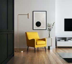 כורסא, ארון ושידות ייחודיות לסלון מעוצב